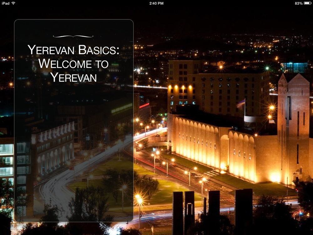 Exploring Yerevan: A Look Inside the City's Past and Present