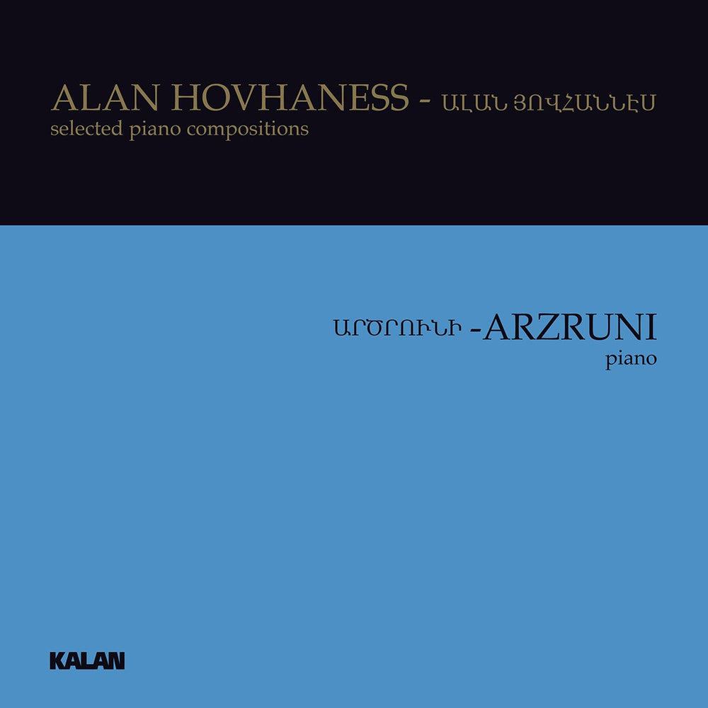HOVHANESS: selected piano compositions by Şahan Arzruni