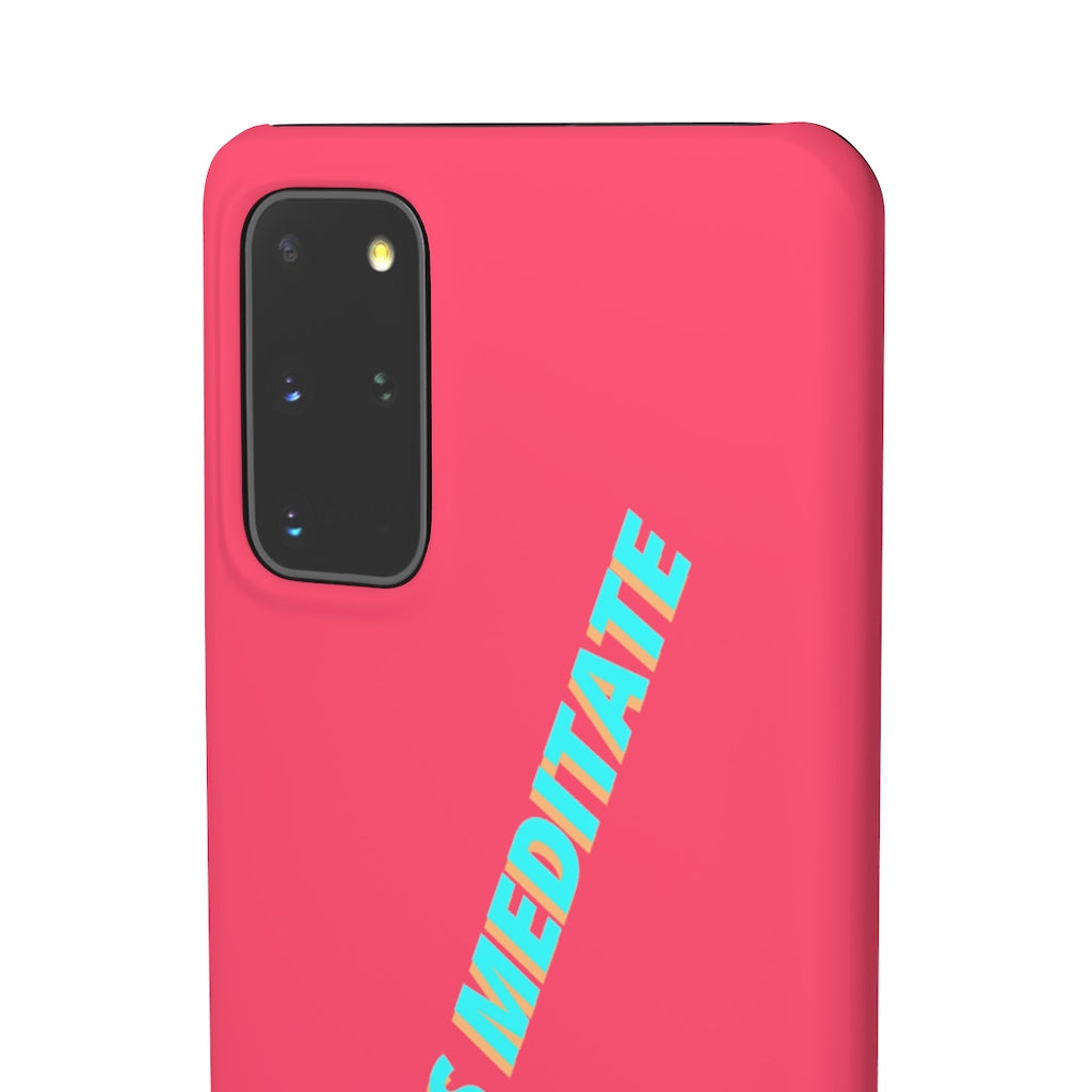 Hot Girls Meditate Iphone case