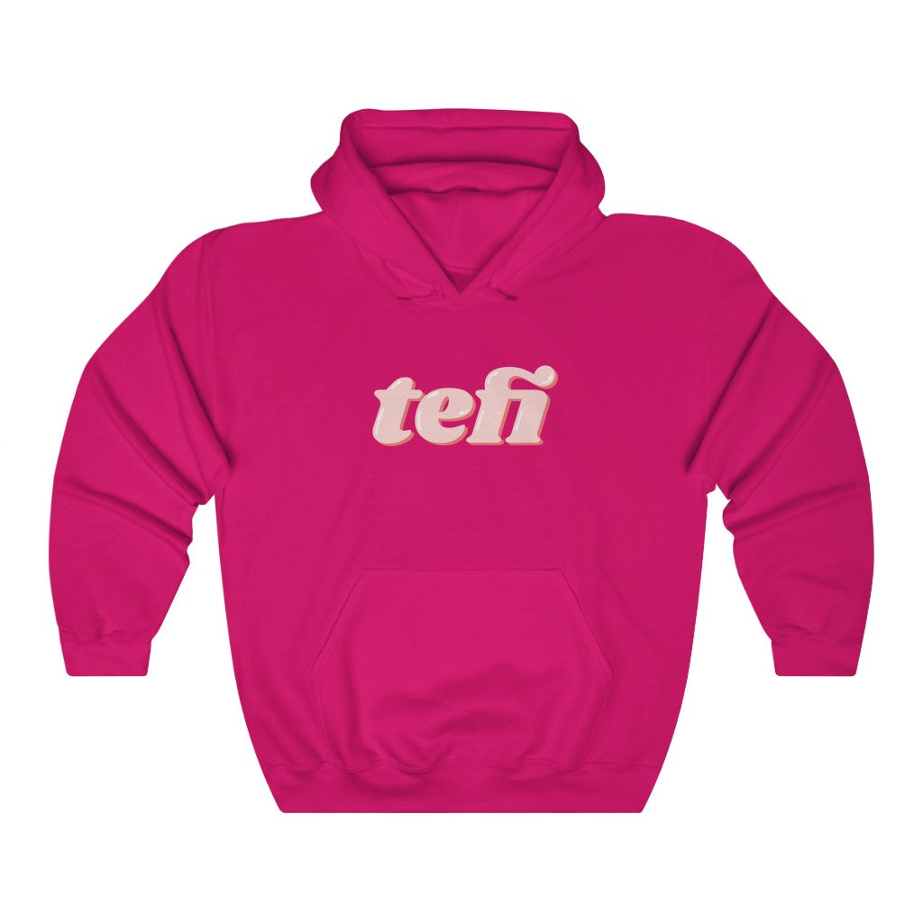 Tefi Unisex Hooded Sweatshirt