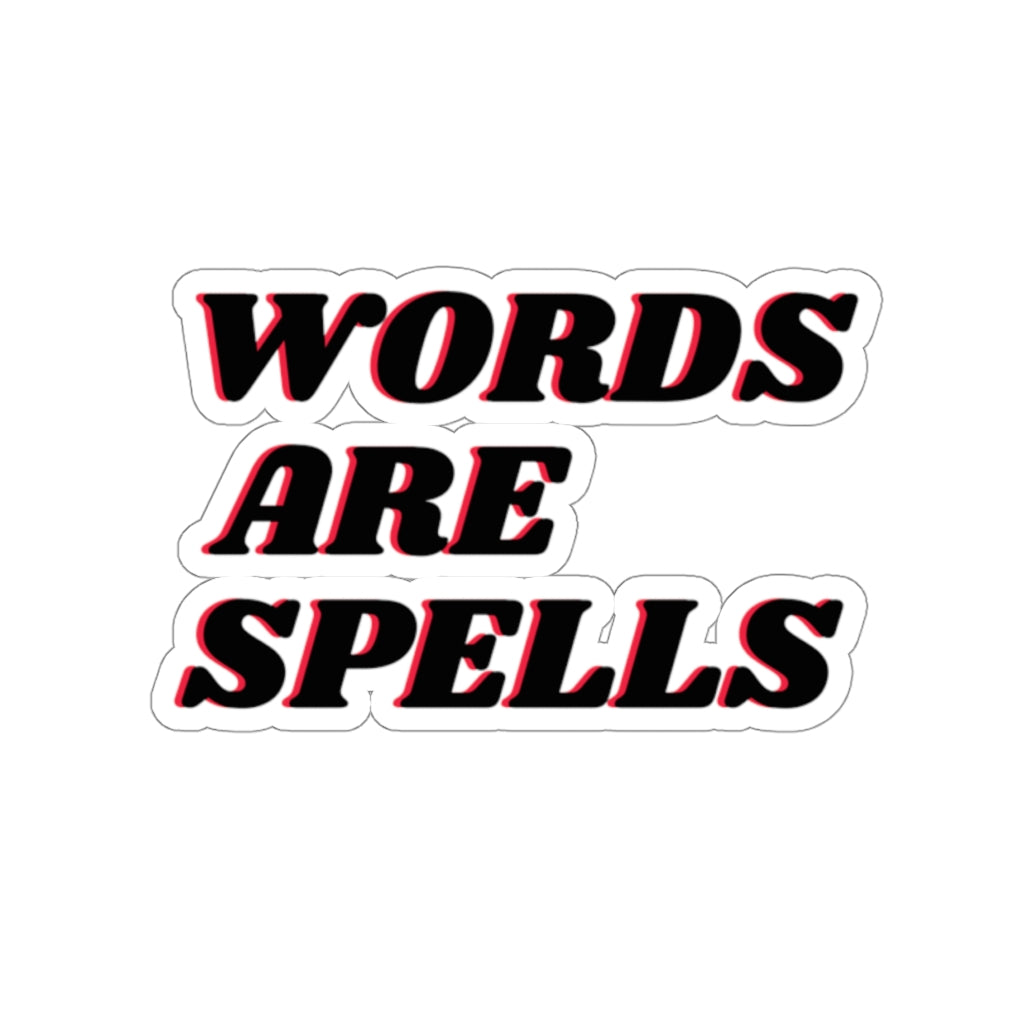 Words are Spells sticker