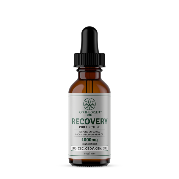 RECOVERY (1000mg) Terpene Enhanced Broad Spectrum Tincture