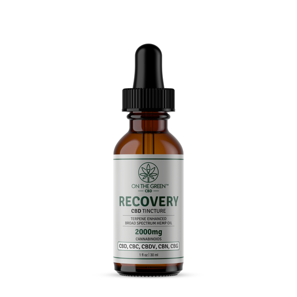 RECOVERY (2000mg) TERPENE ENHANCED BROAD SPECTRUM TINCTURE