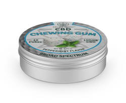 (100MG) CBD CHEWING GUM   PEPPERMINT FLAVOR