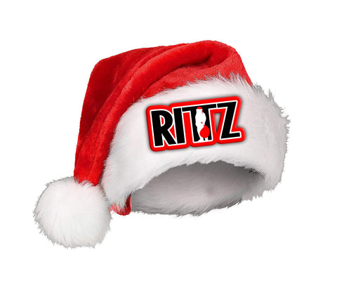 Rittzmas Embroidered Santa Hat