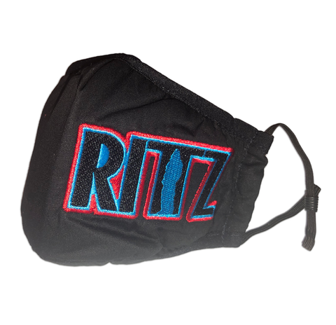 Rittz Embroidered Logo Mask