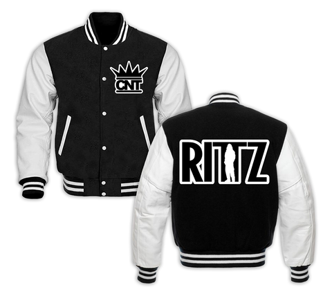 Rittz Embroidered Two Tone Jacket