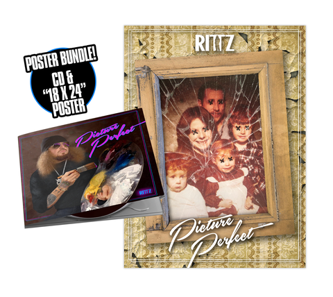 "Rittz ""Picture Perfect"" Autographed CD and Poster"