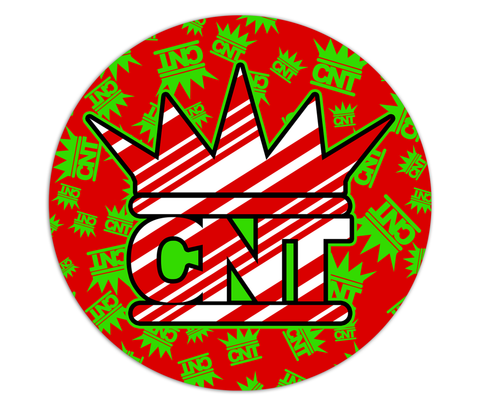 CNT Rittzmas Double Sided Ceramic Ornament - CNT LOGO