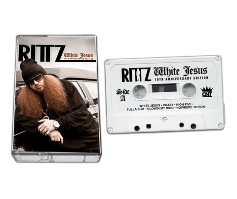 "Rittz ""White Jesus"" Limited Edition 10th Anniversary Cassette"