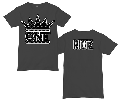 CNT Pattern Logo Charcoal Shirt
