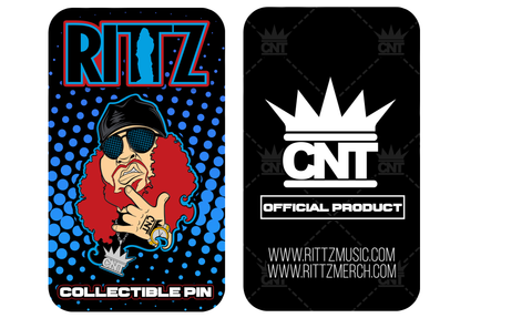 Rittz Cartoon Hat Pin