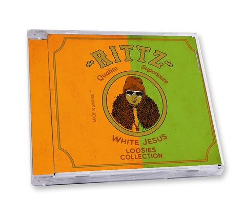 "Rittz ""White Jesus Loosies Collection"" CD"
