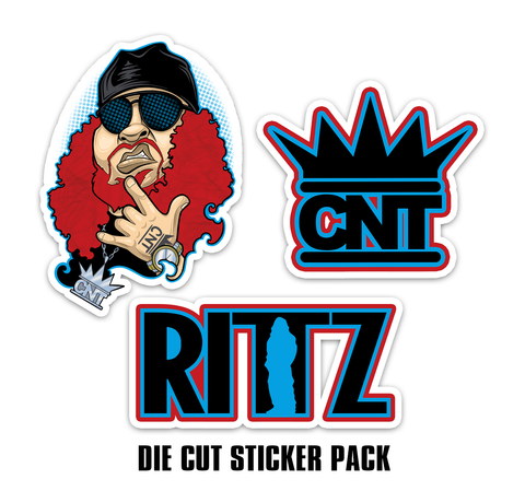 Rittz Die Cut Sticker Pack