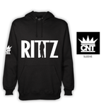 Black Hoodie with a Rittz Logo