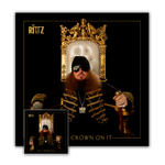 "Rittz ""Put A Crown On It"" CD and 3x3 Flag"
