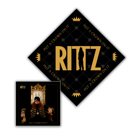 "Rittz ""Put A Crown On It"" CD and Bandana"