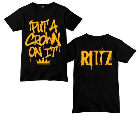 Put A Crown On It Grafitti Shirt