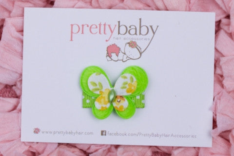 Apple Baby Hair Clip