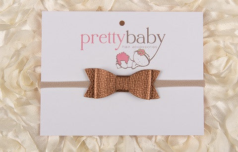 Copper Bow Headband
