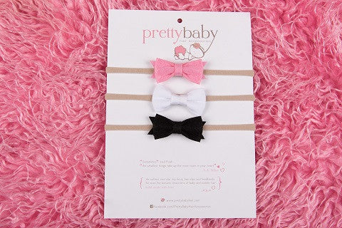 Charlotte Bow Headband Set