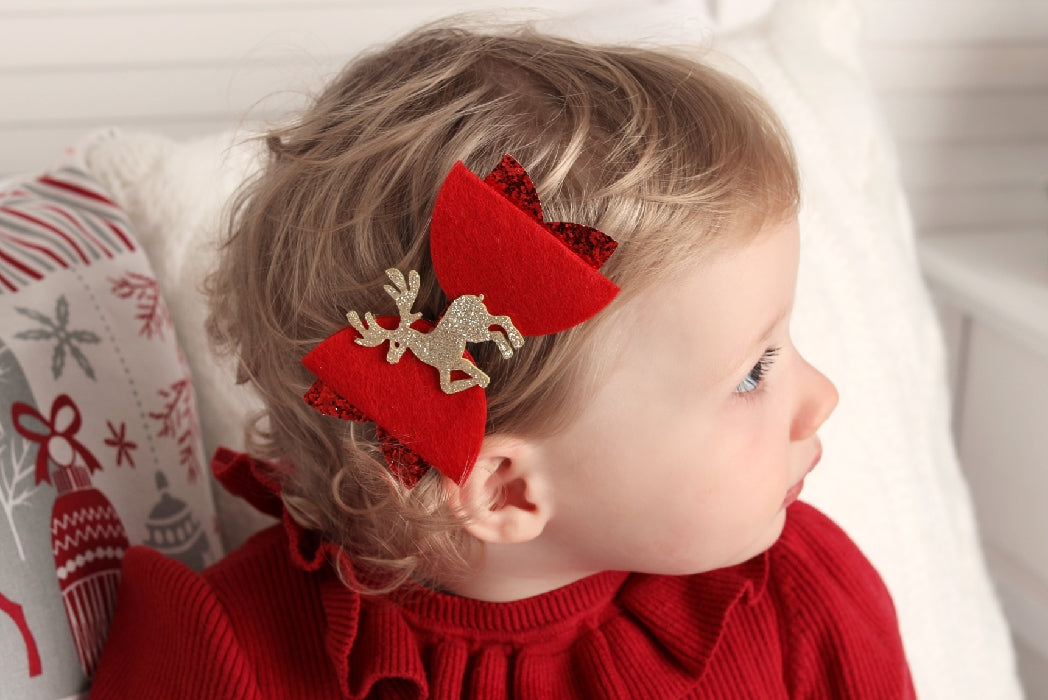 christmas hair bows, christmas baby gift, christmas bows, christmas headband, gold bow baby headband, red bow baby headband, ireland, uk