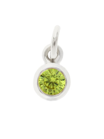 August Birthstone Pendant Charm