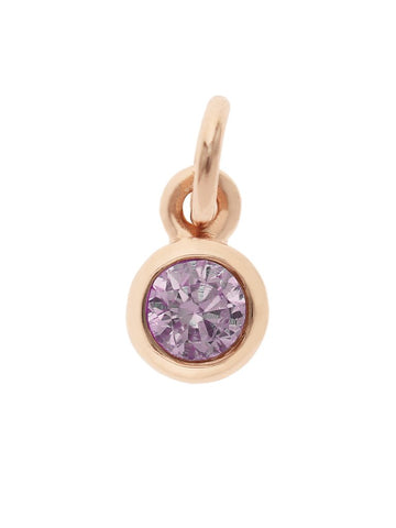 February Birthstone Pendant Charm