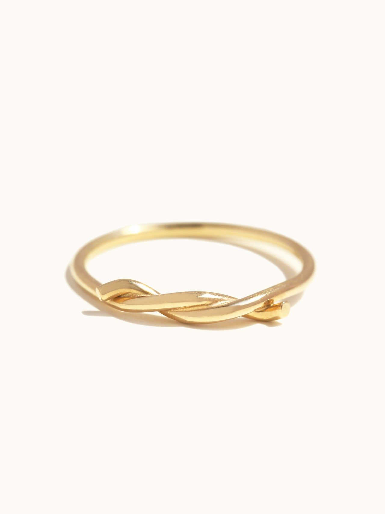 Knotted Thread Ring