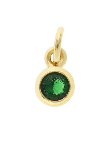 May Birthstone Pendant Charm