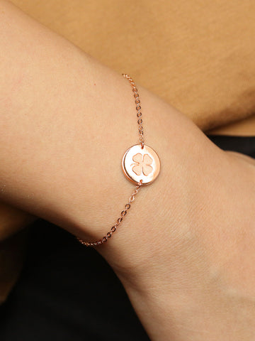 Engravable Medallion Bracelet