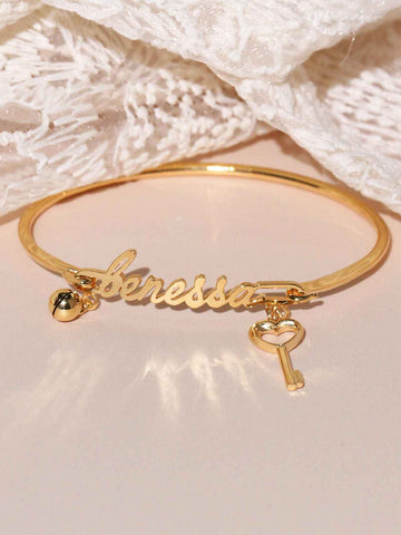 Personalized Trinket Bangle