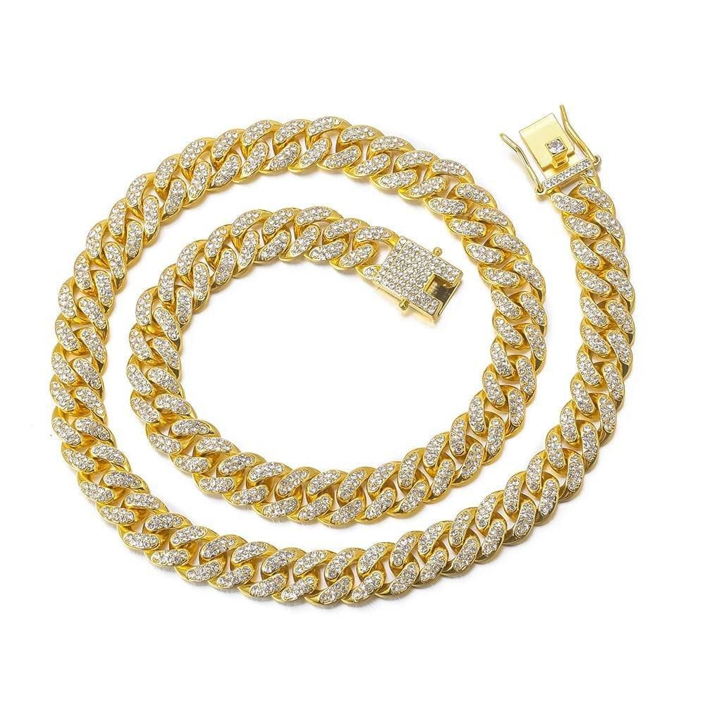 Liquid Gold Cuban Chain Necklace