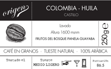 Load image into Gallery viewer, COLOMBIA - Huila - Takahiro Boshi.
