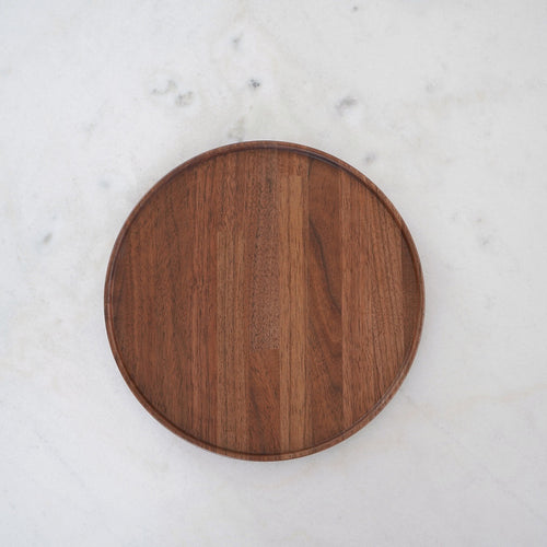 Stackable Walnut Tray / Lid