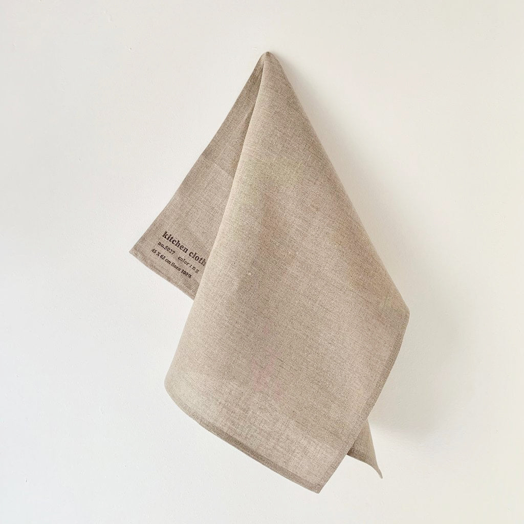 Linen Kitchen Cloth- Natural