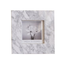 Load image into Gallery viewer, Venata White Marble Photo Frame