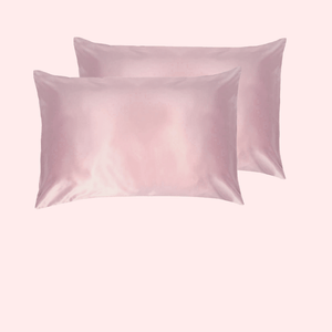 Slinky Silk - Blush pink-100% Pure Mulberry Quality 6A Grade Silk Pillowcase set. Improve and Revolutionalise your skin, hair, life regime with Slinky Silk Pillowcase.
