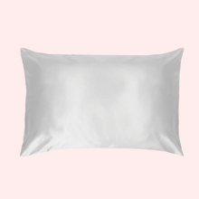 Load image into Gallery viewer, Slinky Silk - White 100% Pure Mulberry Quality 6A Grade Silk Pillowcase set Improve and Revolutionalise your skin, hair, life regime with Slinky Silk Pillowcase.