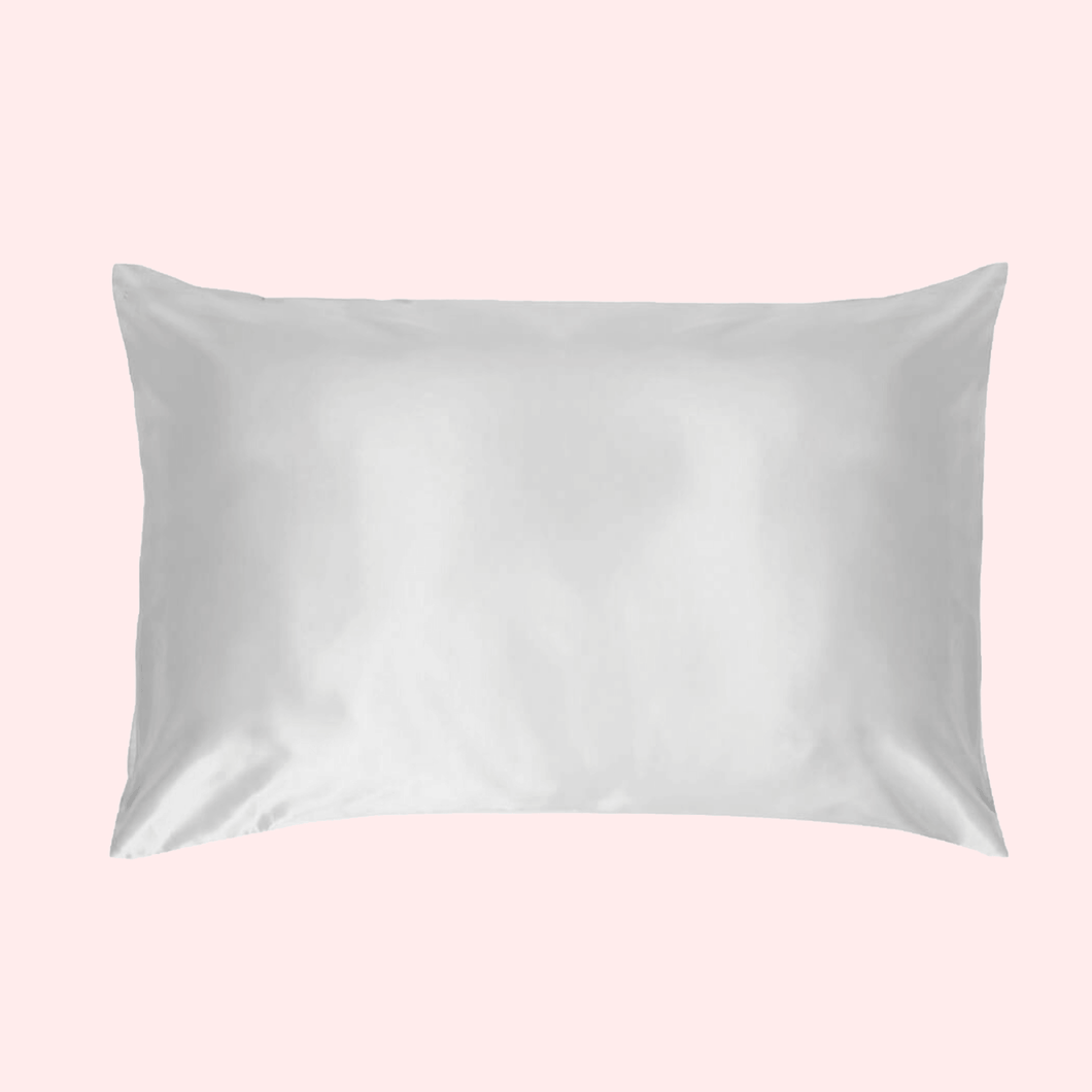 Slinky Silk - White 100% Pure Mulberry Quality 6A Grade Silk Pillowcase set Improve and Revolutionalise your skin, hair, life regime with Slinky Silk Pillowcase.
