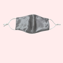 Load image into Gallery viewer, Slinky Silk 100% pure silk reusable face covering mask