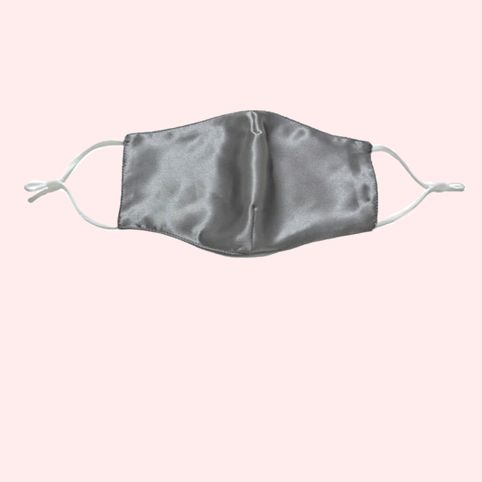 Slinky Silk 100% pure silk reusable face covering mask