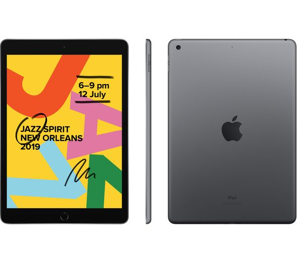 "New APPLE 10.2"" iPad (2019) - 32 GB, Space Grey"