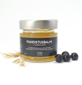 Fiini Naturally-Puhdistusbalmi mustaherukka (balm to milk cleanser) 156 ml