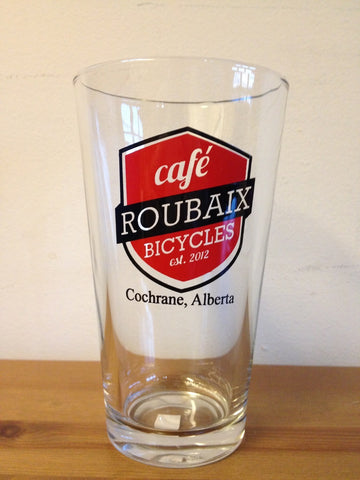Cafe Roubaix Beer Glass
