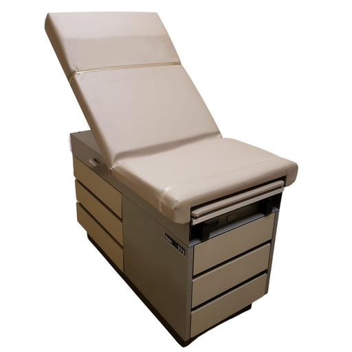 Midmark 104 Manual Examination Table Fully Refurbished w/  New Upholstery FREE SHIPPING