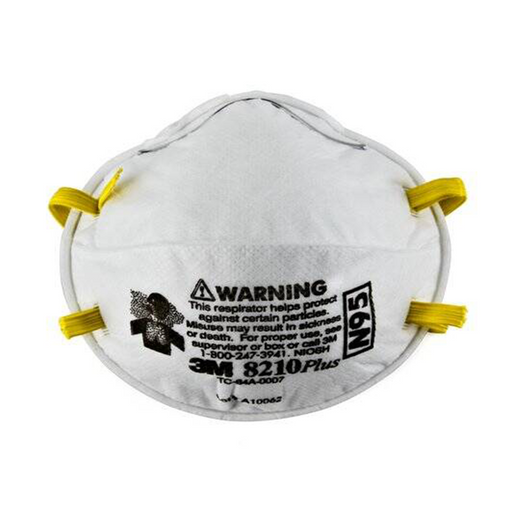 3M™ N95 Face Mask - Particulate Respirator 8210 PLUS - 20 Masks/Bx