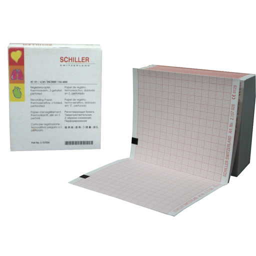 Schiller EKG Recording Paper for AT-101, LCM, DG 5000 and DG 6002  Pack