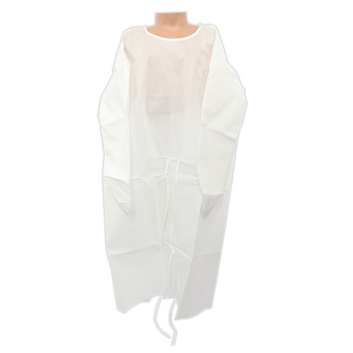 White Isolation Gown Isolation Cover for Ssale