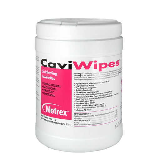 Medical Cleaning Wipes brand Cavi Wipes